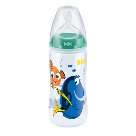Nuk plastična flašica silikon 6-18 m Dory