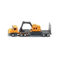 Kamion nosač rovokopača
