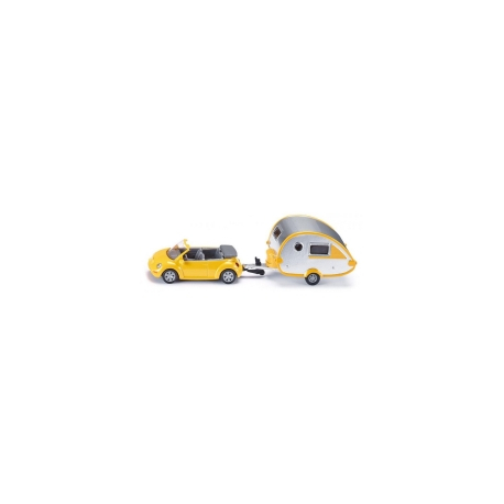 Auto Buba VW sa kamp prikolicom