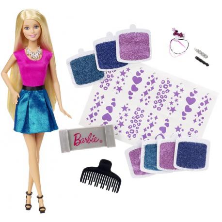 Barbie svetlucava kosa