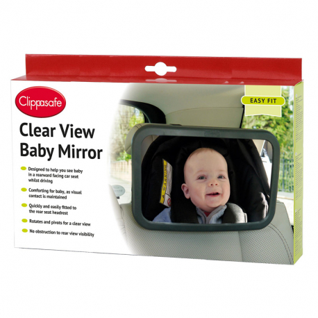 Clippasafe OGLEDALO ZA AUTO Clear View