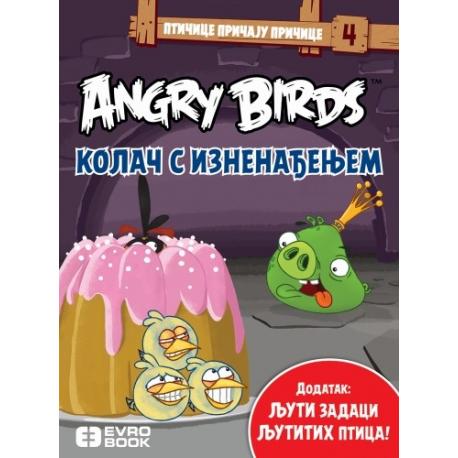 ANGRY BIRDS - KOLAČ S IZNENAĐENJEM