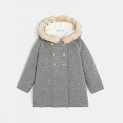 Gilet manteau fourré