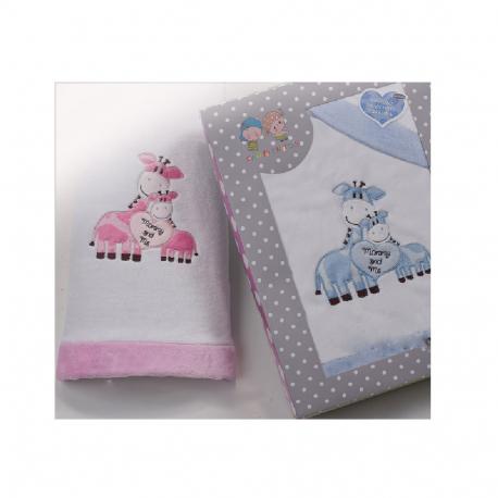 Set čaršafa i jastučnica za kolevku Siel