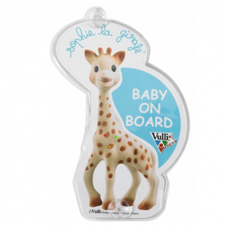 Sophie la Girafe nalepnica Baby on Board