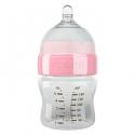 Yoomi 140ml flašica plava/roze