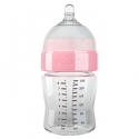 Yoomi 240ml flašica plava/roze