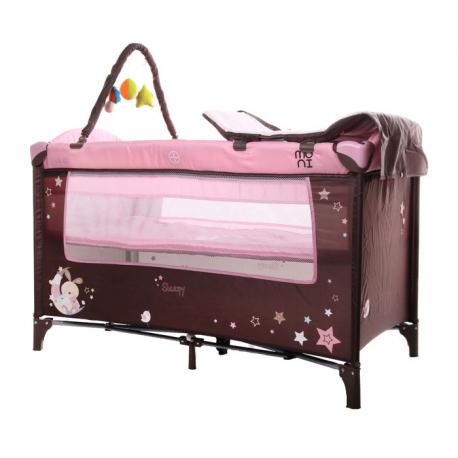 Cangaroo prenosivi krevetac Sleepy Pink