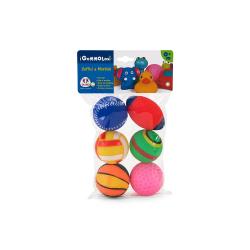Vitamina lopte za bebe set 6 komada