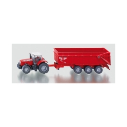 Traktor Massey Ferguson sa prikolicom