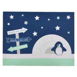 DomiVa dekoracija za zid Pingvin