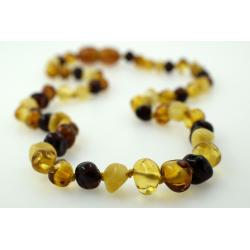 Babyline ogrlica od ćilibara Baroque Mix