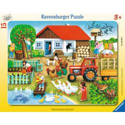 Ravensburger puzzle Sta gde staviti? Farma