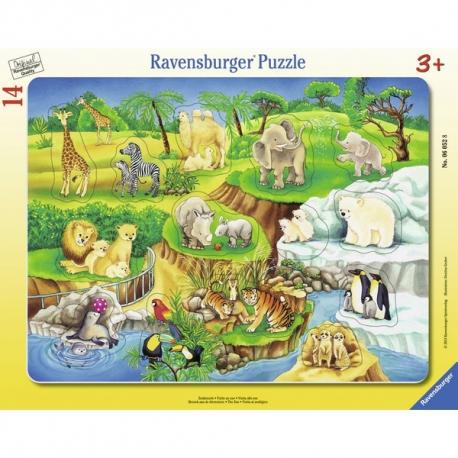 Ravensburger puzzle Zivotinje u zoo vrtu 14kom