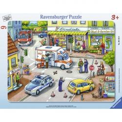 Ravensburger puzzle Uzbuna u gradu 9kom