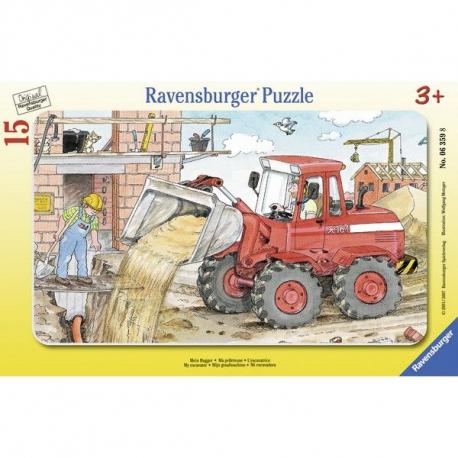 Ravensburger puzzle Na gradilistu 15kom
