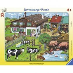 Ravensburger puzzle Porodice zivotinja 33kom