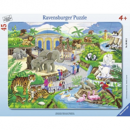 Ravensburger puzzle Poseta zoo vrtu 45kom