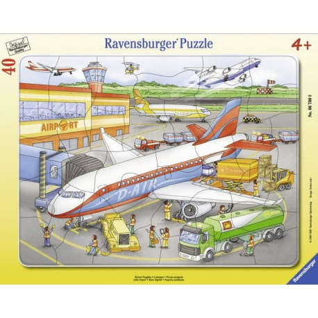 Ravensburger puzzle Na arodromu 40kom