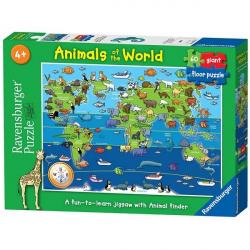 Ravensburger puzzle Zivotinje sveta 60kom