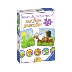 Ravensburger puzzle (slagalice) - Moje prve puzle, 9 u 1,sitne z
