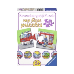 Ravensburger puzzle (slagalice) - Moje prve puzle, 9 u 1,zaniman