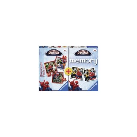 Ravensburger puzzle (slagalice) - Spiderman Memory