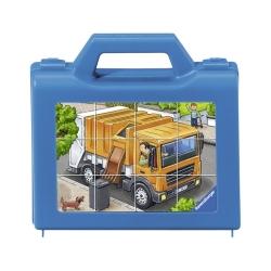 Ravensburger puzzle (slagalice) - Puzle-kockice, kamion