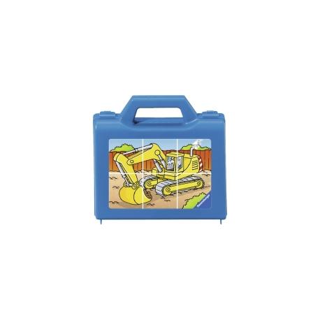 Ravensburger puzzle (slagalice) - Puzle-kockice, bager
