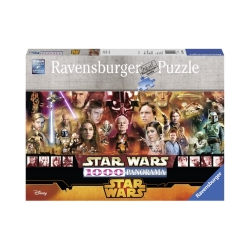Ravensburger puzzle (slagalice)- Star Wars panorama
