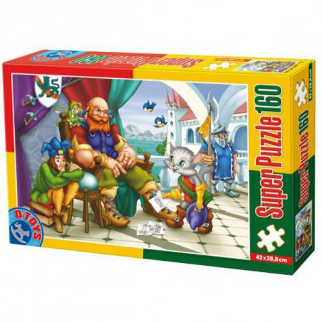 D-Toys puzzle Mačak U Čizmama 160kom