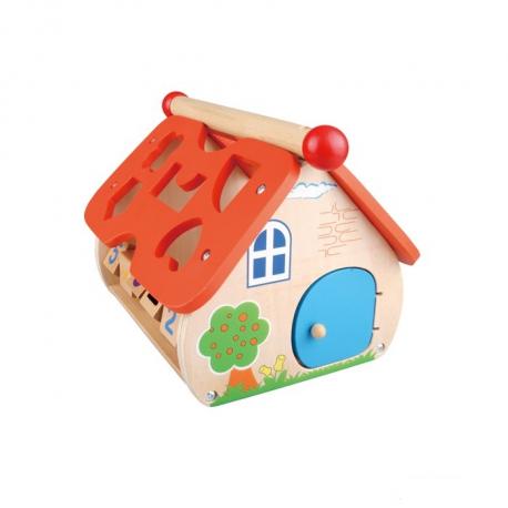 Pino didaktička igračka Kućica