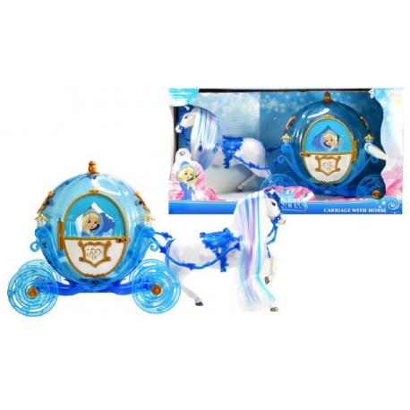Ice Princess Svetleće kočije sa konjem