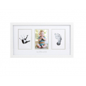 Pearhead Babyprints Photo Frame Closed Box Packaging