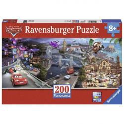 Ravensburger puzzle Panorama Cars 200kom