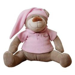 Babiage igračka DooDoo Bear Pink