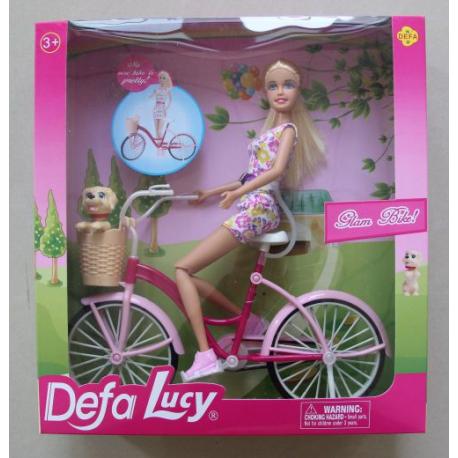 Defa lutka na bicikli