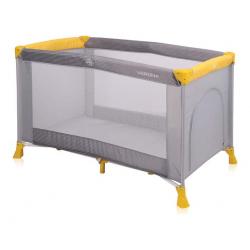 Lorelli prenosivi krevetac Verona 1 Layer Grey&Yellow Baby