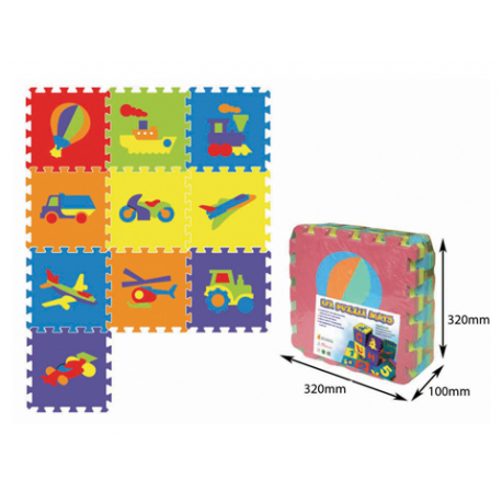 Podne puzzle Vozila 10 kom