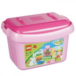 Lego Duplo pink kutija sa kockama