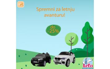 Pogledajte akcije ...za automobile na akumulator  do -20%